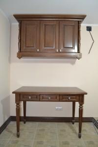 комплект стол со шкафами