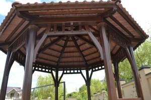 Китайская беседка (потолок)